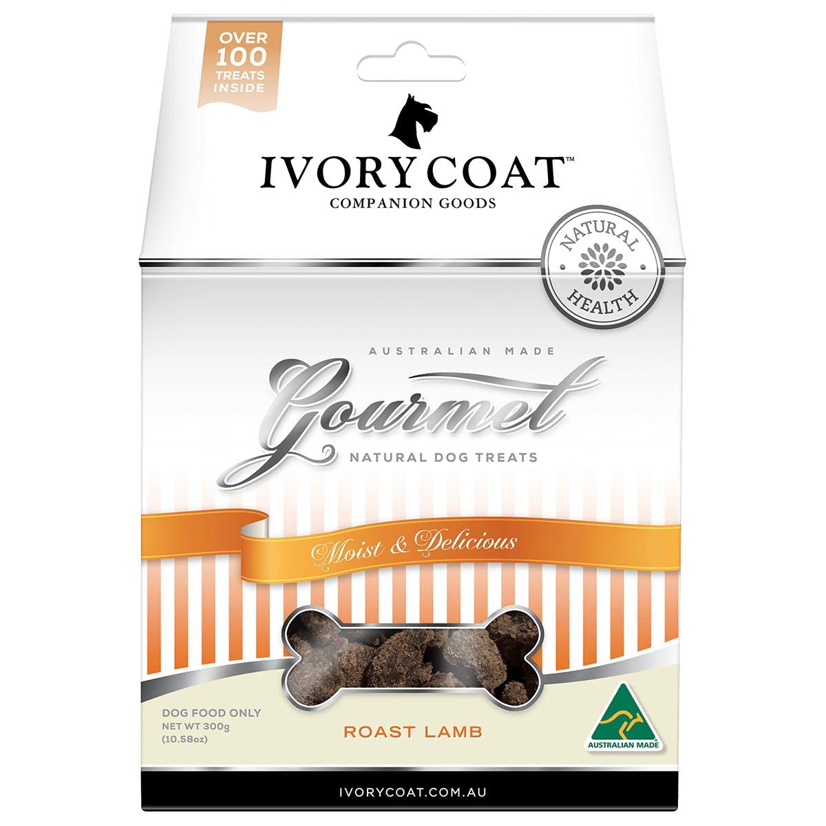 Ivory Coat | Roast Lamb | Dog treats | Front of pack