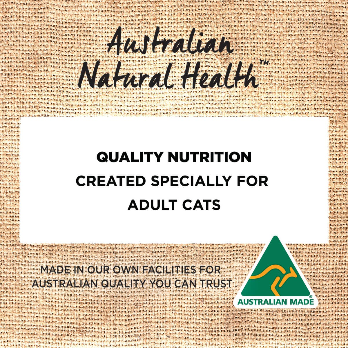 Ivory Coat   Cat Wet GF Adult Chicken & Kangaroo in Gravy 85g   Grain Free Wet Cat Food   Back of pack